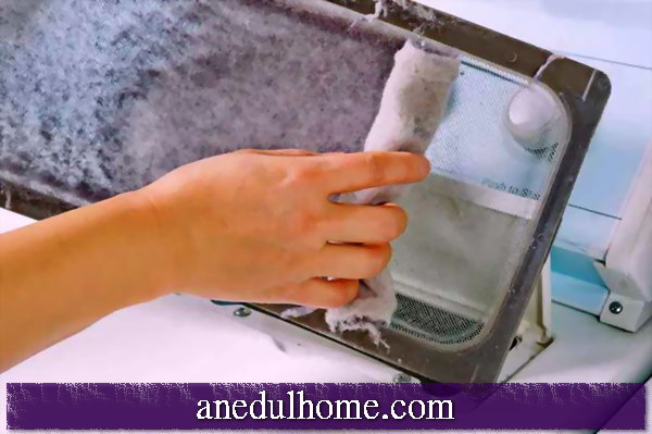Washing machine: how to clean the lint filter